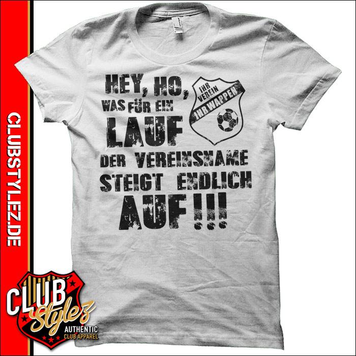 Aufstiegs Shirts Was für ein Lauf - Meistershirts ...